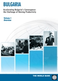 Bulgaria. Accelerating Bulgaria's Convergence: the Challenge of Raising Productivity