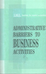 Administrative Barriers to Business Activities