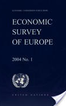 Economic Survey of Europe