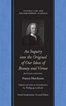 An Inquiry into the Original of Our Ideas of Beauty and Virtue, Revised Edition