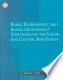Rural, Enviroment and Social Development Strategies for the Eastern Europe and Central Asia Region