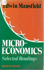 Microeconomics: Selected Readings