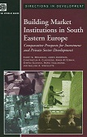 Building Market Institutions in South Eastern Europe